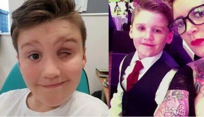 """Menino perde olho esquerdo após ser atingido por """"tiro"""" de lançador de dardos"""