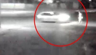 Morador de rua surge na frente de carro e morre atropelado