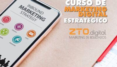 Agência ZTO Digital abre inscrições para curso de Marketing Estratégico em Dourados