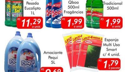 SEGUNDA DA LIMPEZA no Mercado Julifran, confira as ofertas em Fátima do Sul