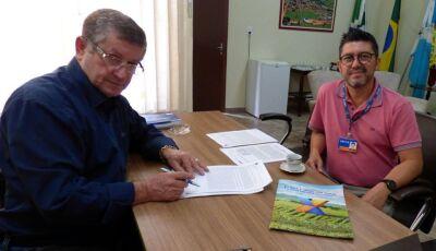 JATEÍ: Eraldo assina contrato por meio do Ministério da Agricultura de R$ 89 mil para equipamento