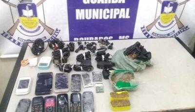 Ação conjunta da Guarda Municipal e Polícia Civil evita que drogas e celulares entre em presídio