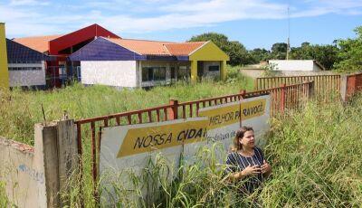 Vereadora de Dourados denuncia falta de vagas e Ceim com obras paralisadas