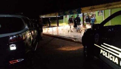 Durante ''Operação Cidade Tranquila'', dois são presos em Glória de Dourados