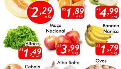 Venha para a QUARTA VERDE  do Mercado Julifran, confira as ofertas em Fátima do Sul