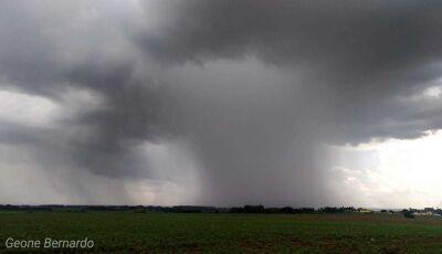 Fátima do Sul e mais 75 cidades do MS em alerta para risco de tempestade