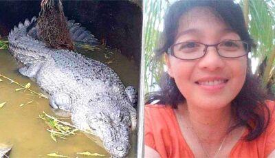 Cientista é devorada quando alimentava crocodilo