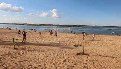 Praias doces na costa leste de MS surpreendem pela beleza e são opção para férias