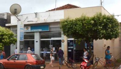 Mais uma vez, lotérica é assaltada e bandidos levam malote de dinheiro em Fátima do Sul