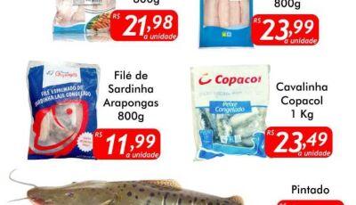 Ofertas da SEXTA DO PEIXE - No Mercado Julifran - FÁTIMA DO SUL