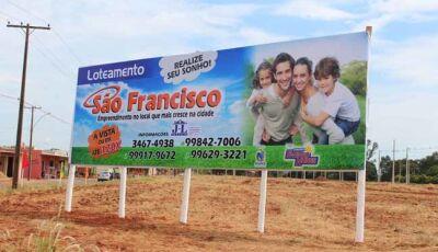 JL Imóveis está vendendo lotes do Loteamento São Francisco em Fátima do Sul