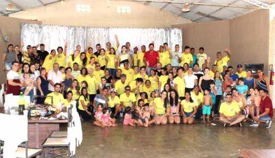 Confraternização marca o II Encontro da Familia Araújo em Vicentina