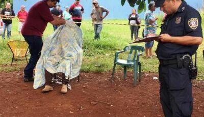 Homem é executado em frente a esposa com 12 tiros de pistola 9mm