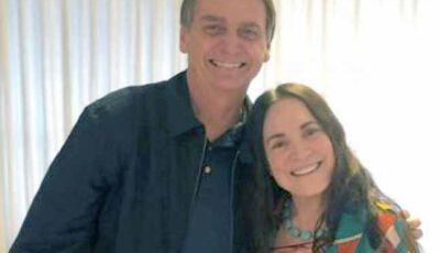 Regina Duarte surpreende e se posiciona contra atitude de Bolsonaro