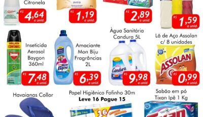SEGUNDA DA LIMPEZA no Mercado Julifran!!!, confira as ofertas em Fátima do Sul
