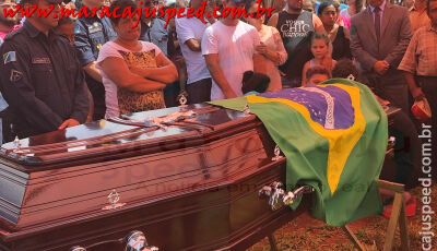 Emoção marca o sepultamento do Policial Militar Juciel Rocha Professor