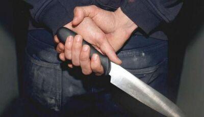 Jovem é preso após esfaquear mulher grávida em Nova Alvorada do Sul