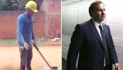 Pedreiro desafia Rodrigo Maia: 'Trabalhe 30 dias numa obra, que trabalho até os 80'