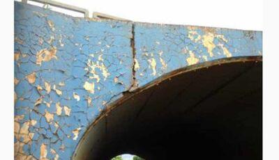 Túnel no Parque das Nações apresenta rachaduras em põe Douradenses em alerta