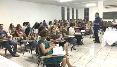 Catequistas de Fátima do Sul tem curso de Formação com equipe Diocesana