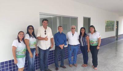 Prefeito Eraldo entrega as chaves das 3 novas salas do CMEI Recanto do Saber em Jateí