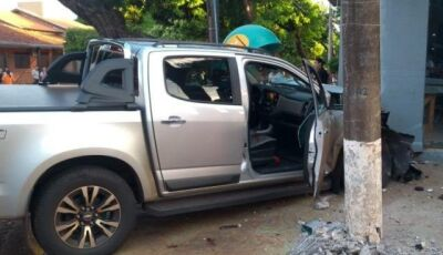 Empresário leva dois tiros em atentado no Centro de Dourados