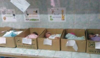 Milhares de bebês abandonados na Venezuela de Maduro