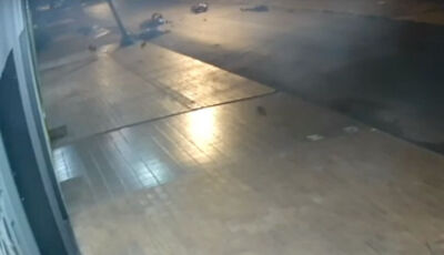 VÍDEO mostra colisão frontal entre motos que matou dois em Dourados