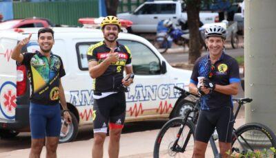 Confira as fotos do 1° Rachão de Mountain Bike realizado em Jateí