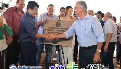 Confira as FOTOS da entrega das 100 Casas Populares em Vicentina