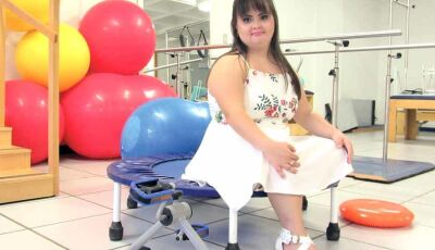 Luana pode ser a primeira brasileira com Síndrome de Down a colar grau em Fisioterapia