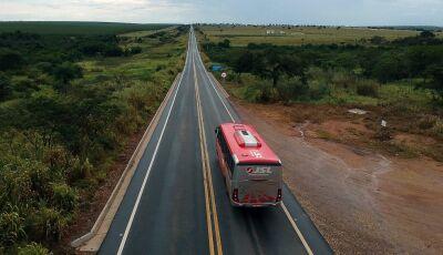 Investimentos do Estado dobram trechos de rodovias pavimentadas em MS