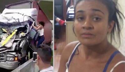 Leiliane: a mulher que salvou uma vida na tragédia que matou Boechat (Video)