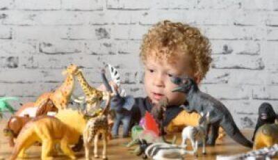 Crianças apaixonadas por dinossauros possuem uma inteligência mais desenvolvida