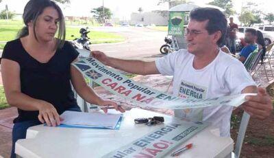 Movimento contra abusos da Energisa cresce em todo Mato Grosso do Sul