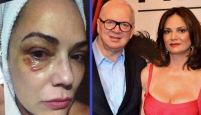Enquanto Lírio Parisotto era condenado, Luiza Brunet discutia campanha contra violência doméstica