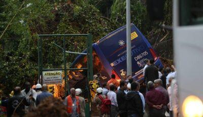 Sobe para cinco mortes por causa de temporal no Rio