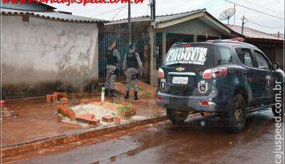 Militares são recebidos a tiros em Maracajú, homem baleado, morre ao dar entrada no Pronto Socorro