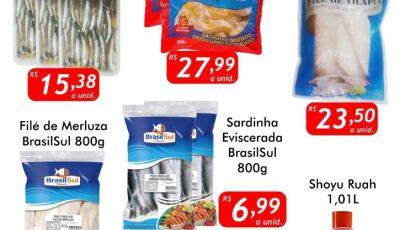 Hoje tem 'Sexta do Peixe', confira as ofertas no Mercado Julifran em Fátima do Sul