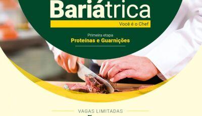 UNIGRAN com inscrições abertas para a 1ª Oficina Culinária Bariátrica em Dourados