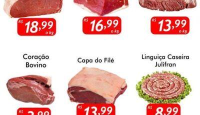 QUINTA FILÉ, seu dia de economizar comprando carnes no Mercado Julifran em Fátima do Sul