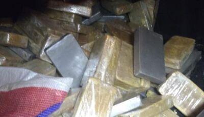 Deodapolense transportava carga de cocaína avaliada em R$ 2 milhões