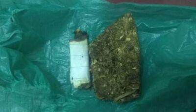 Polícia Militar prende indivíduos com droga próximo à escola em Glória de Dourados