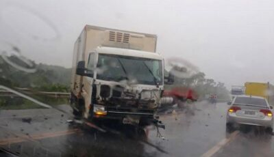 Identificadas e liberadas as vítimas de acidente na rodovia BR-163 moradores em Fátima do Sul