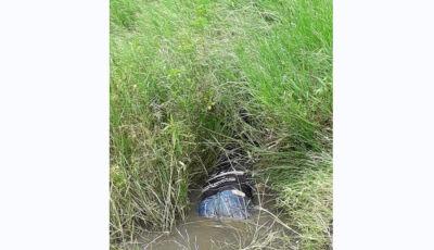 Corpo de homem é encontrado em rego d'água ao lado de açude em Nova Alvorada do Sul