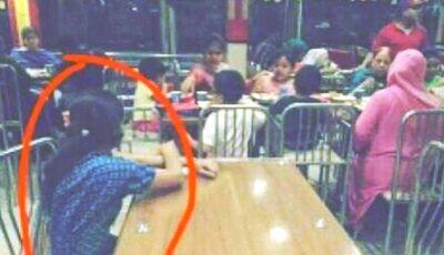 Babá Fica Isolada Em Restaurante Enquanto Família Come Em Outra Mesa