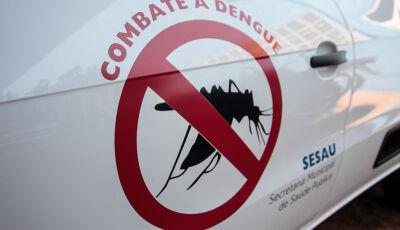 Com três mortes, MS está em terceiro lugar no ranking da dengue no Brasil
