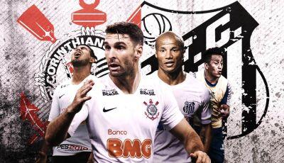 """Corinthians e Santos extrapolam limite de estrangeiros e fazem """"clássico gringo"""" em Itaquera"""