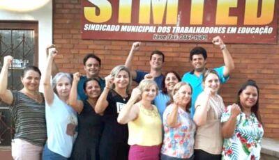 Simted realiza eleição para diretoria hoje, 12, em Fátima do Sul e Culturama