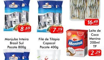 SEXTA DO PEIXE no Mercado Julifran, CONFIRA as ofertas em Fátima do Sul